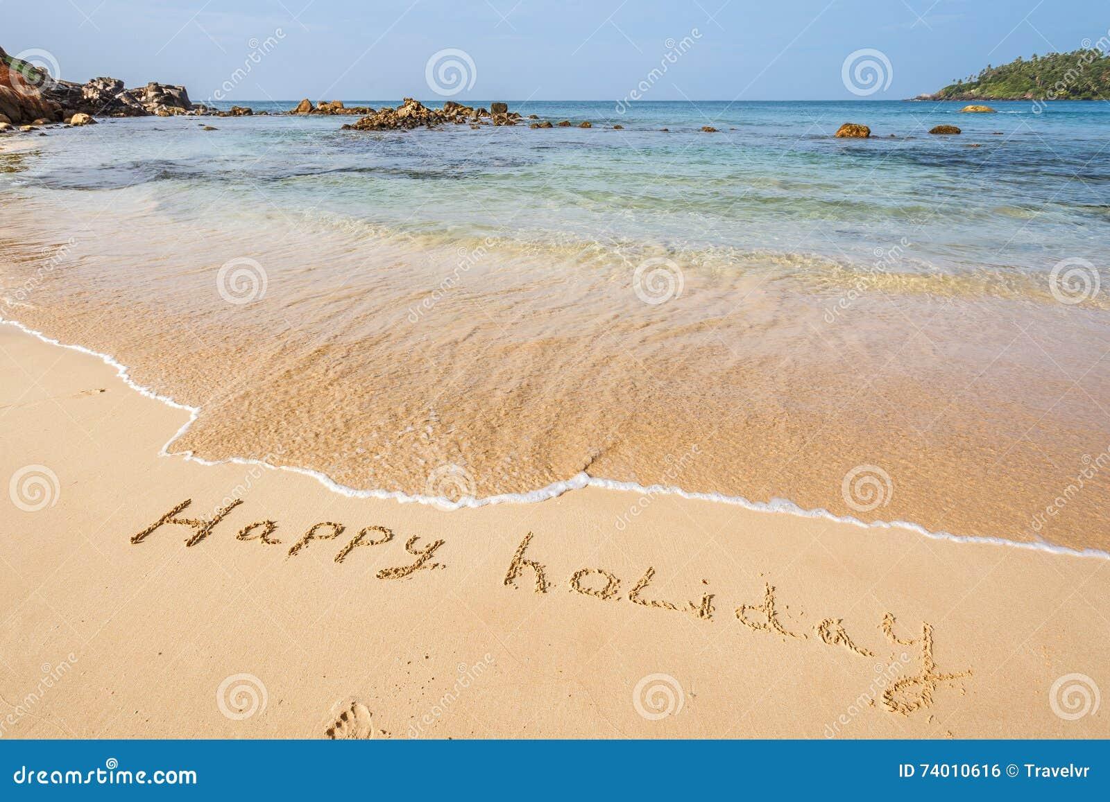 Happy Holidays On The Beach