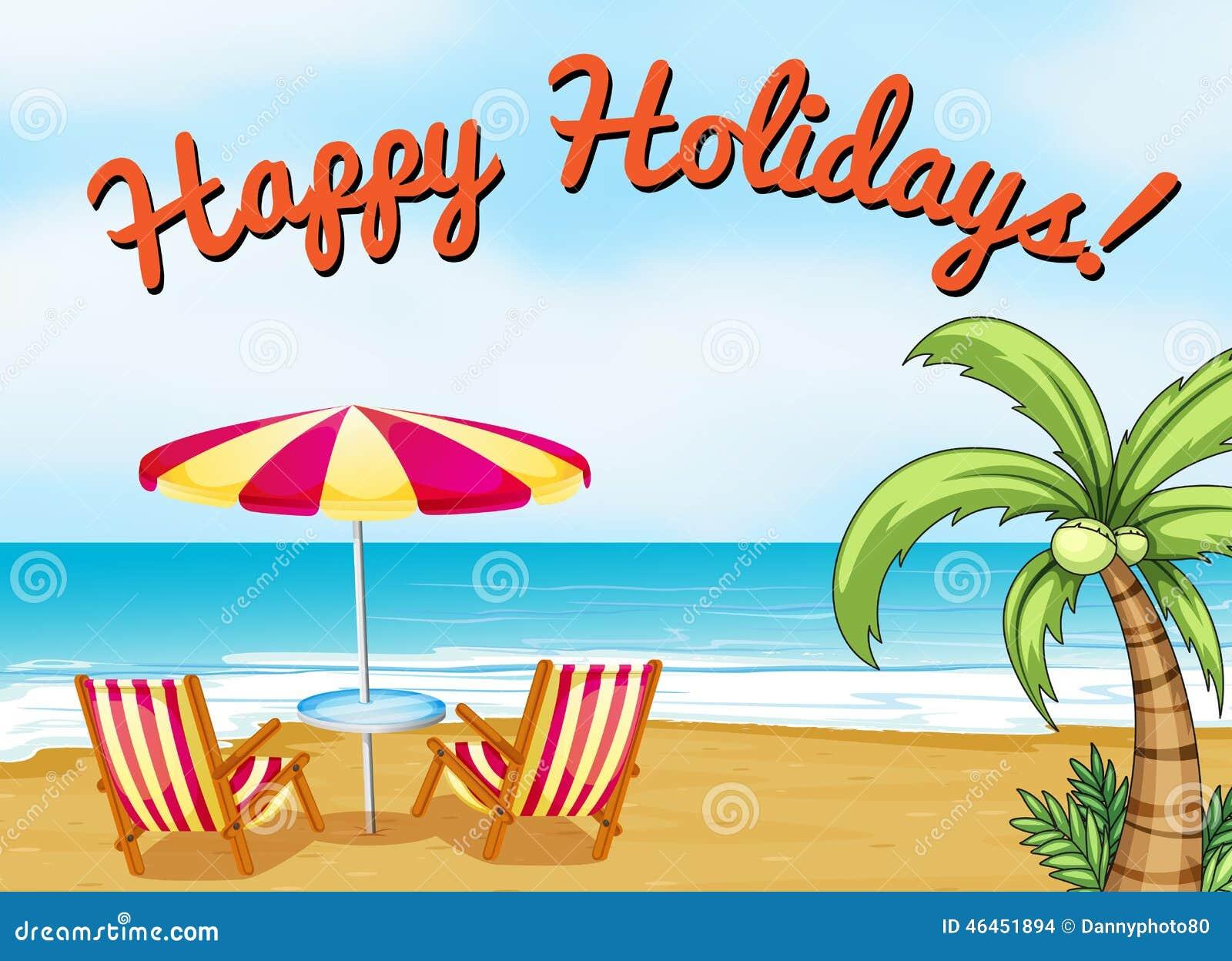 Happy Holidays Stock Vector - Image: 46451894