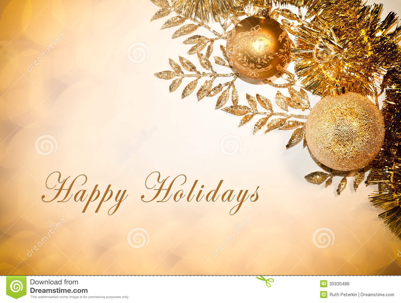 Happy holidays business card yeniscale happy holidays business card reheart Image collections