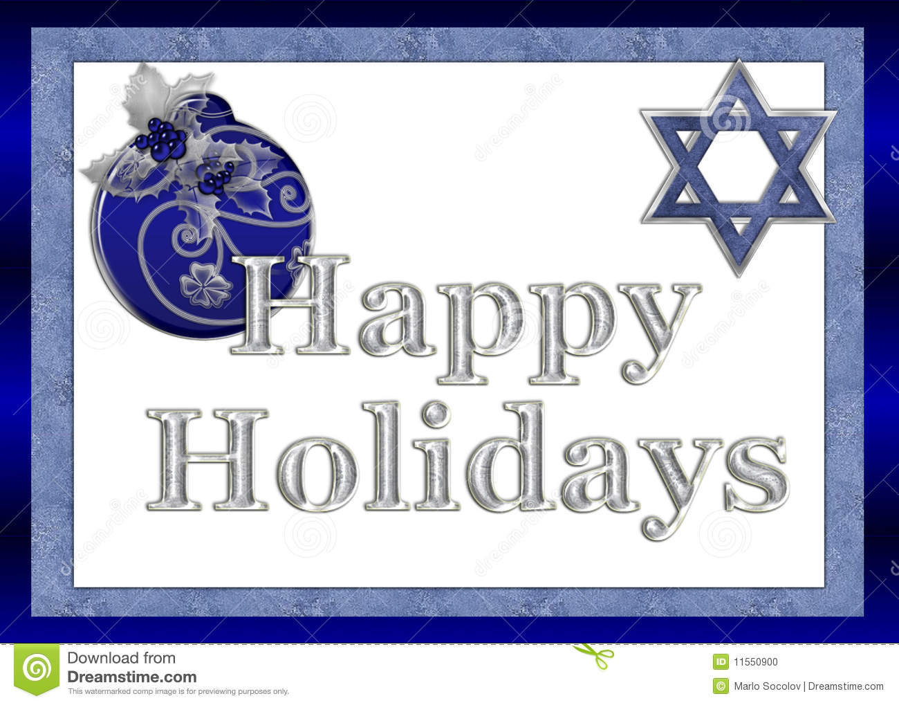 Happy holidays jewish greeting card stock illustration happy holidays jewish greeting card kristyandbryce Images