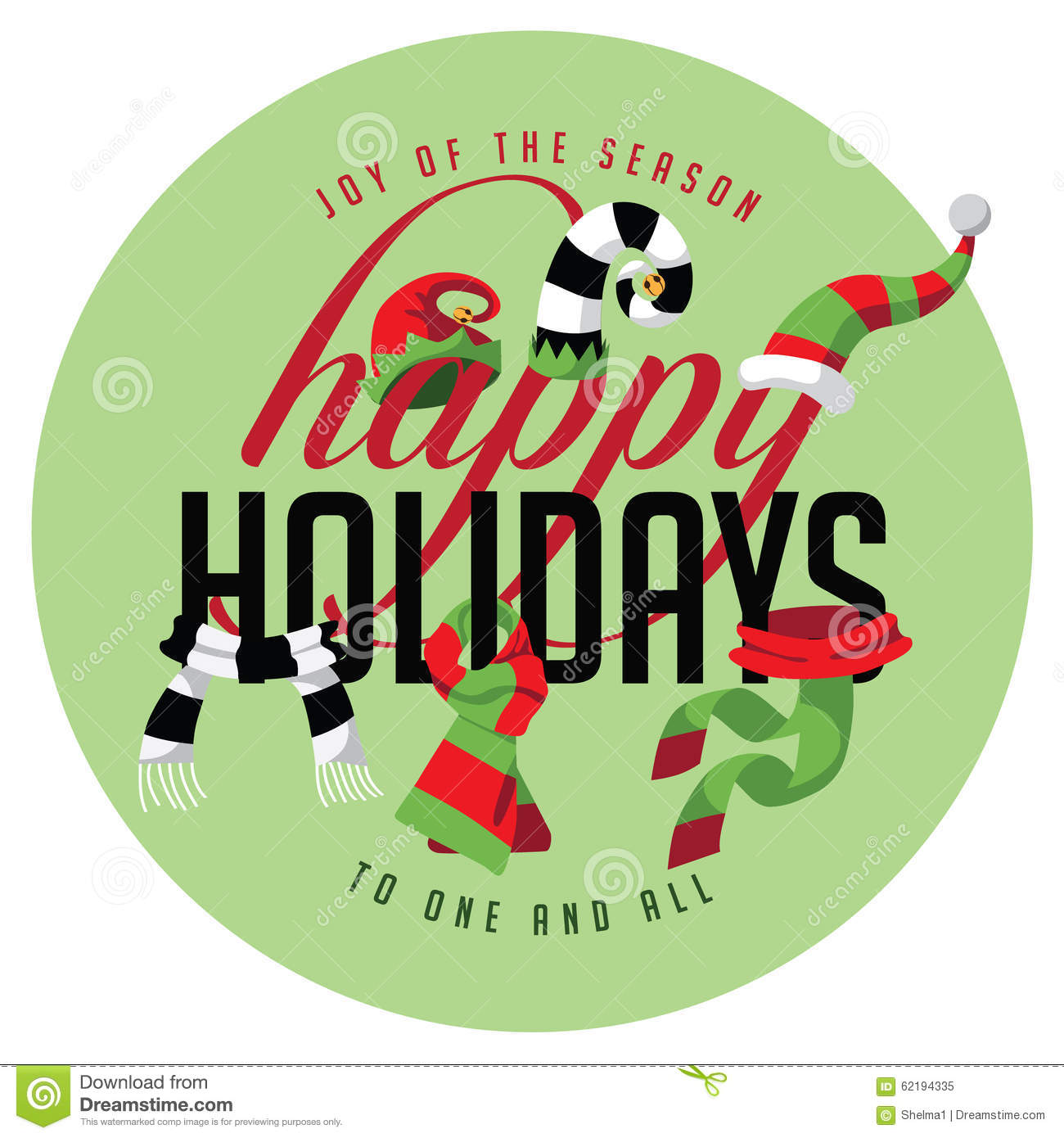 Happy Holidays joy of the season to one and all