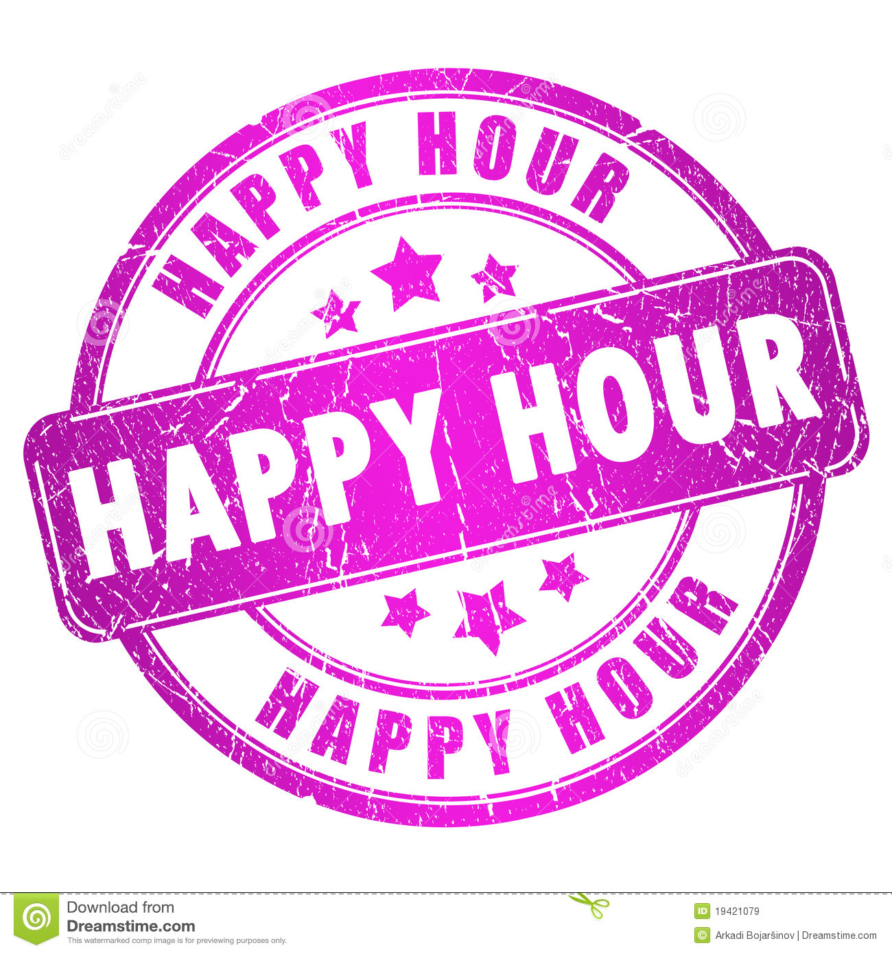 Happy Hour Royalty Free Stock Images - Image: 19421079