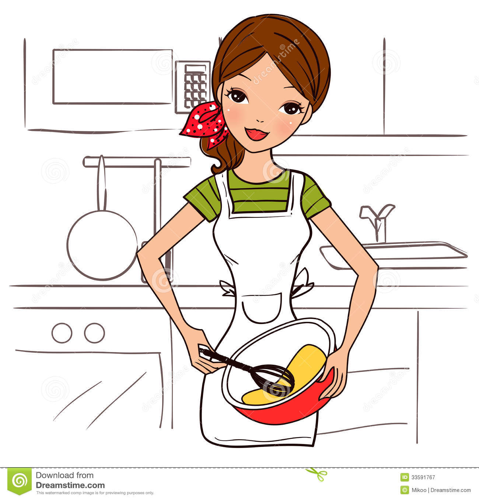 Картинка профессия домохозяйка 8