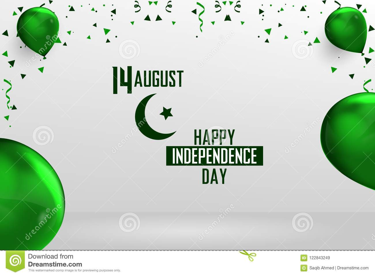 Happy Independence Day Pakistan 14 August Pakistani Independence
