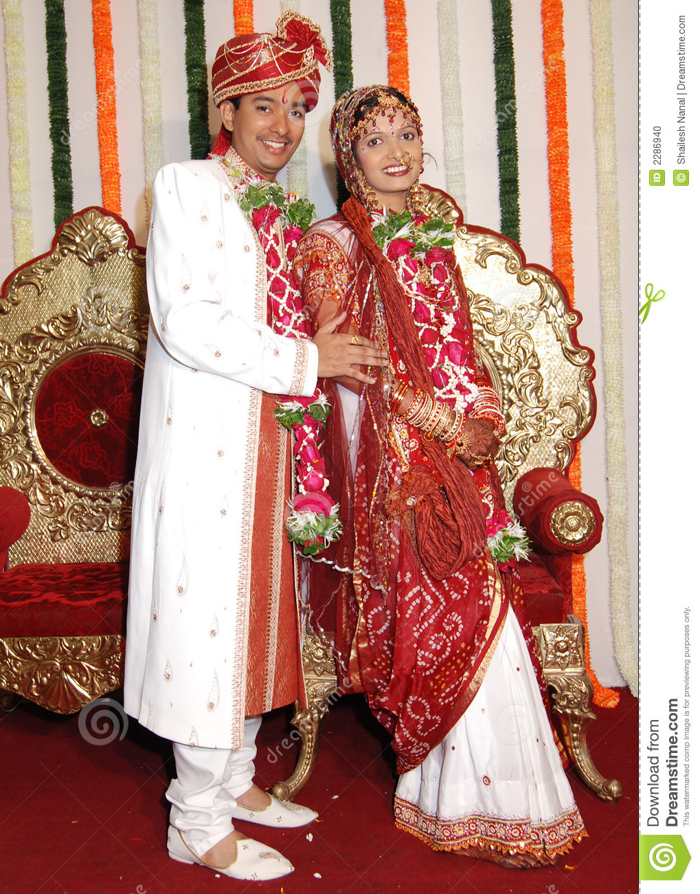 Happy Indian Marriage Stock Photo Image Of Smart