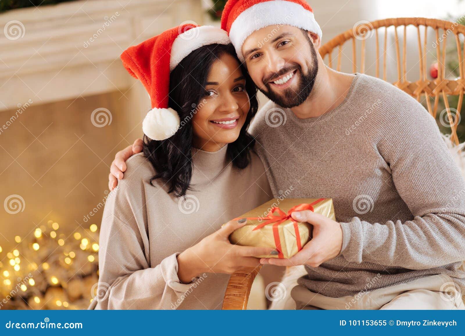 https://thumbs.dreamstime.com/z/happy-international-couple-posing-christmas-present-celebrating-together-beautiful-happy-international-couple-posing-101153655.jpg