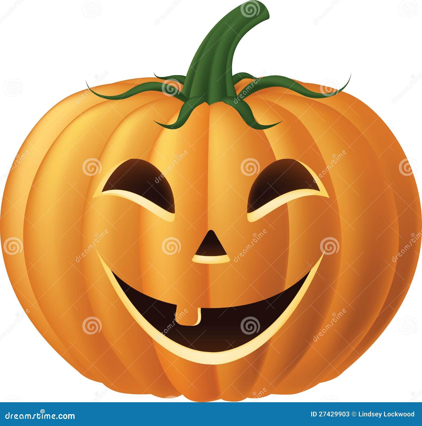 Aninimal Book: Happy Jack-o-lantern Pumpkin Stock Illustration ...