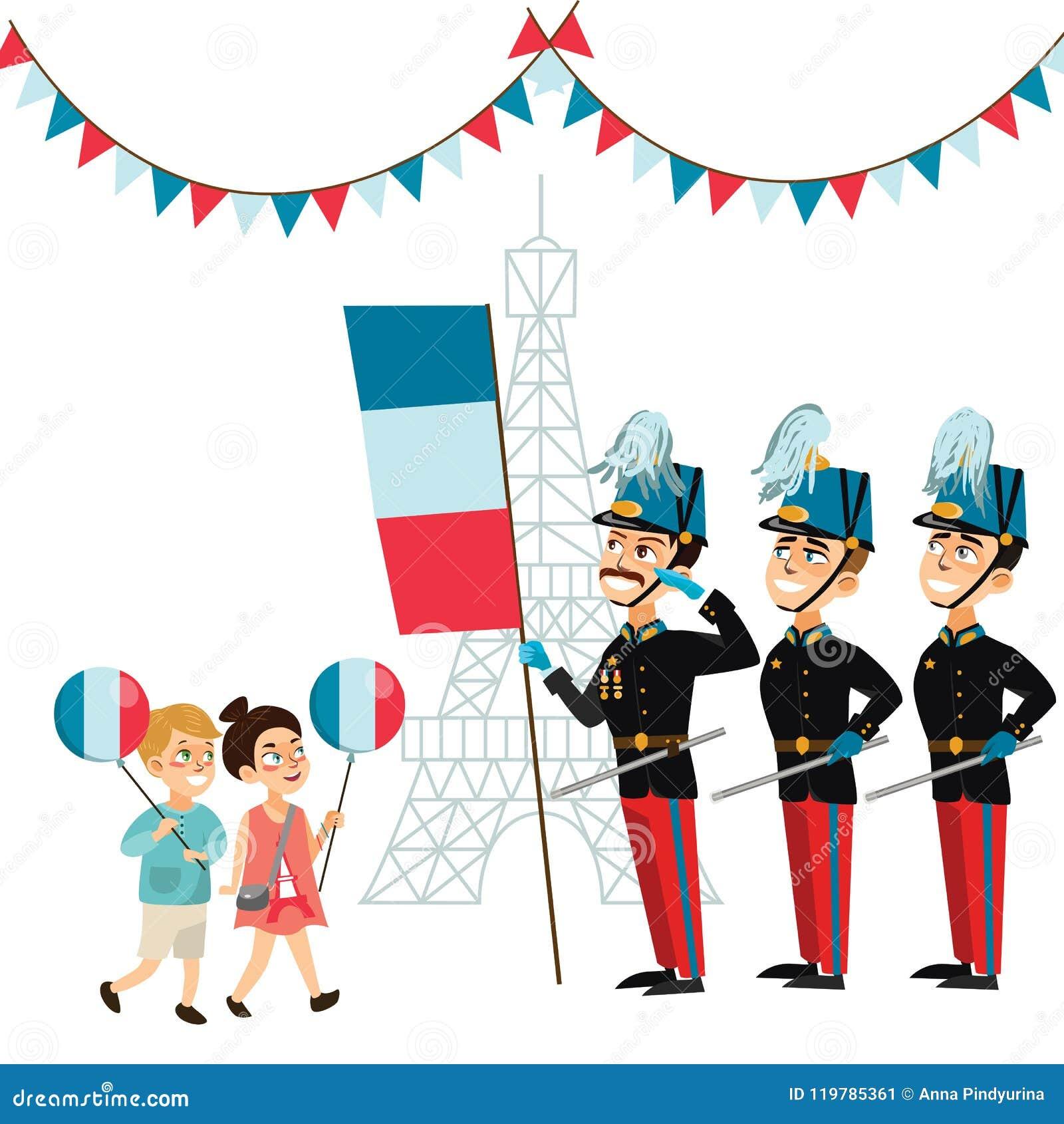 Kids Parade Stock Illustrations – 372 Kids Parade Stock ...