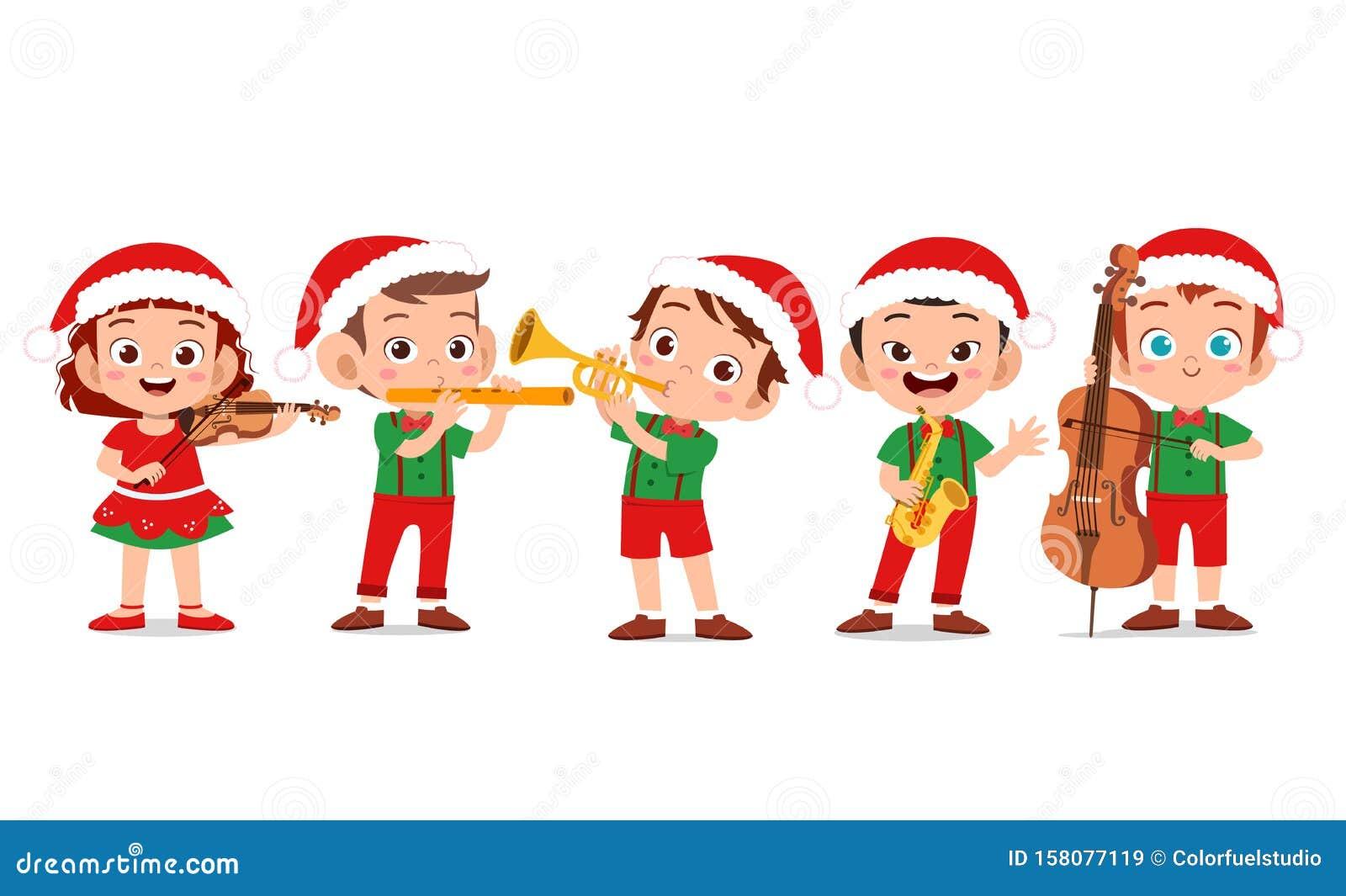 Christmas Music Clip Art - Royalty Free - GoGraph