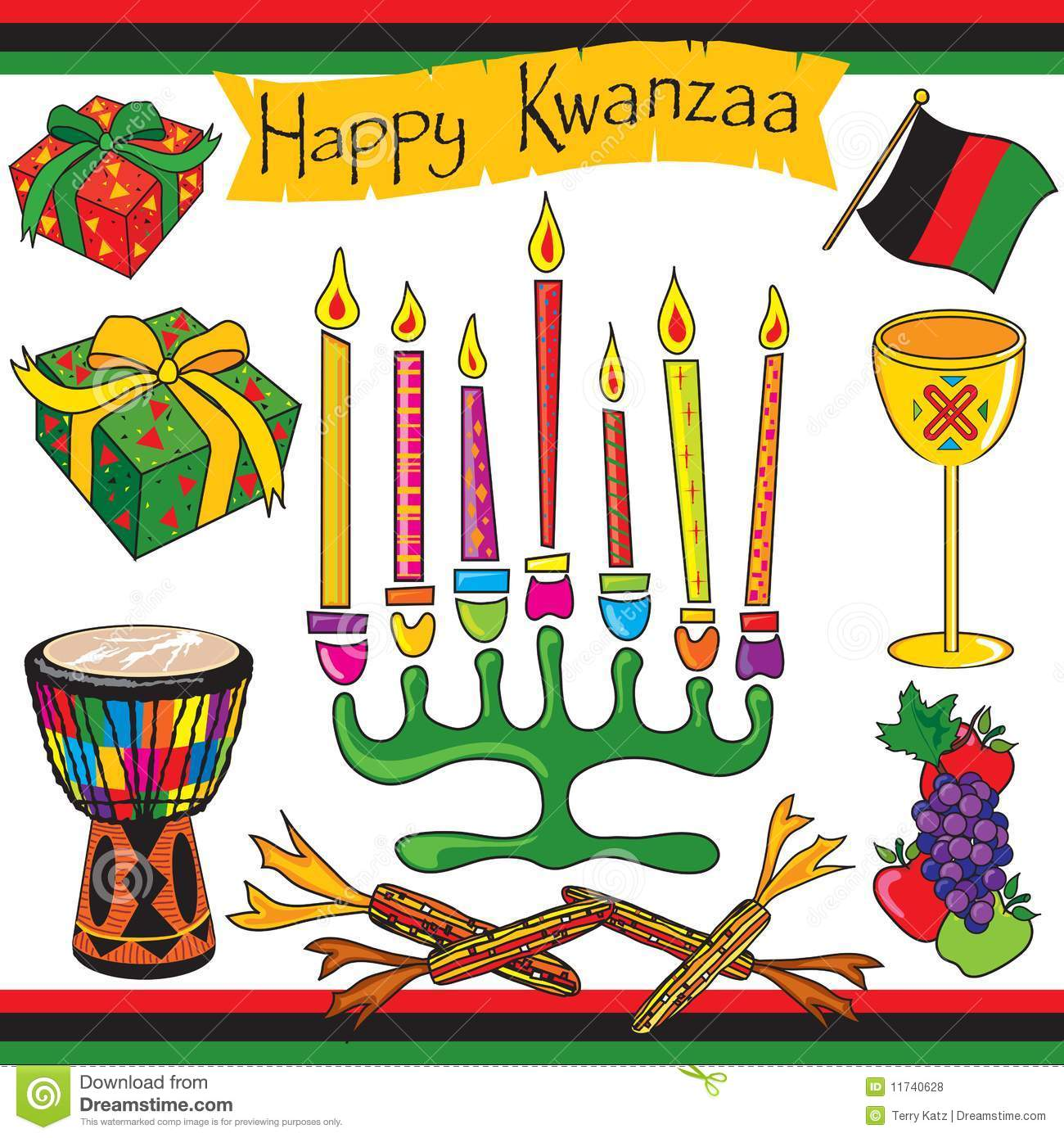 Happy Kwanzaa Happy kwanzaa clip art and