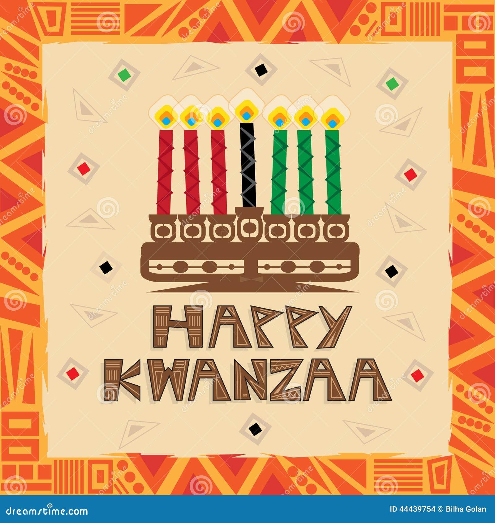 Happy kwanzaa stock vector illustration of candles holiday 44439754 happy kwanzaa m4hsunfo