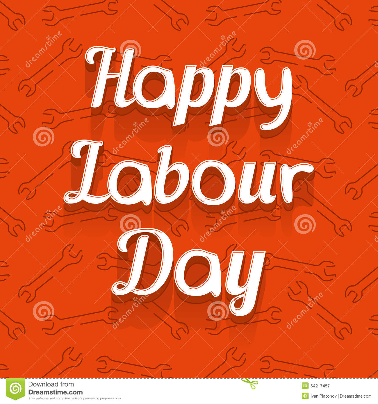 Canada happy labour day stock vector illustration of happy 58076918 happy labour day royalty free stock photography kristyandbryce Image collections