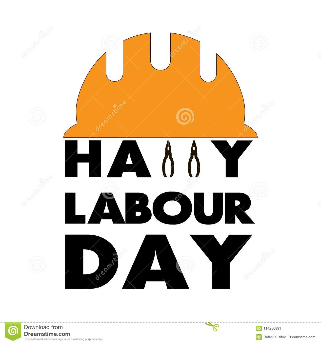 Happy labour day greeting card vector illustration stock vector happy labour day greeting card vector illustration m4hsunfo