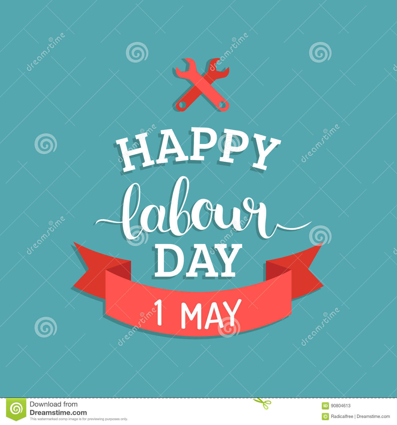 Happy labour day illustration concept with wrenches1st of may happy labour day illustration concept with wrenches1st of may vector background international workers day logo design kristyandbryce Image collections