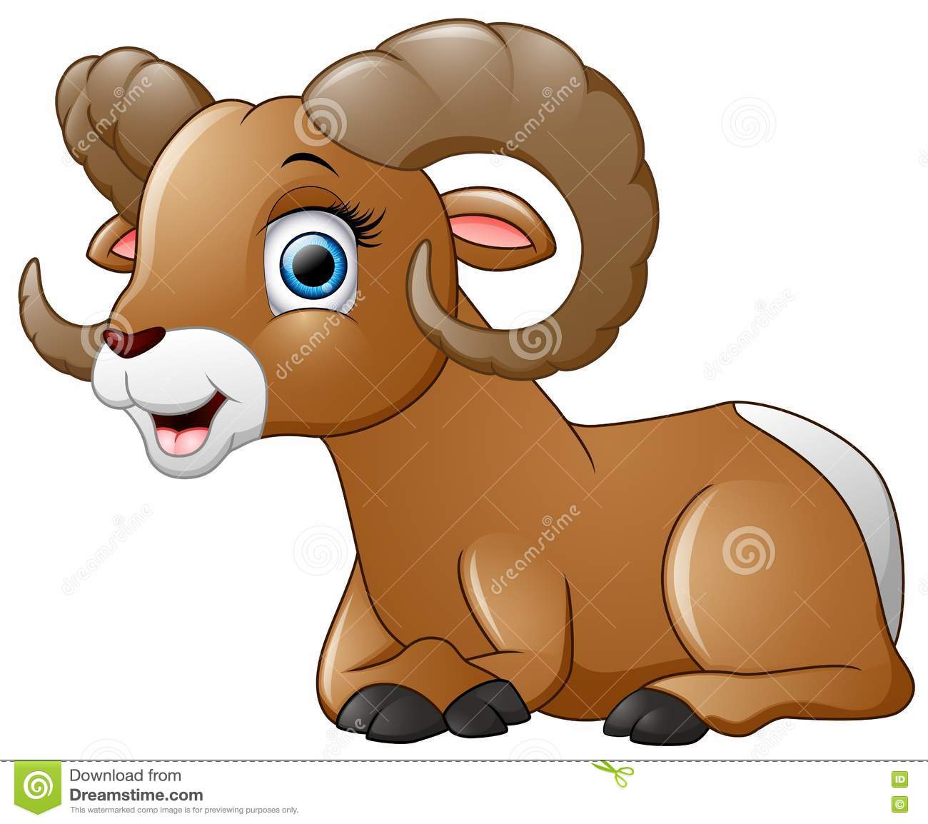 Happy Lamb Cartoon Isolated On White Background Stock Vector ... for Happy Lamb Jumping  61obs