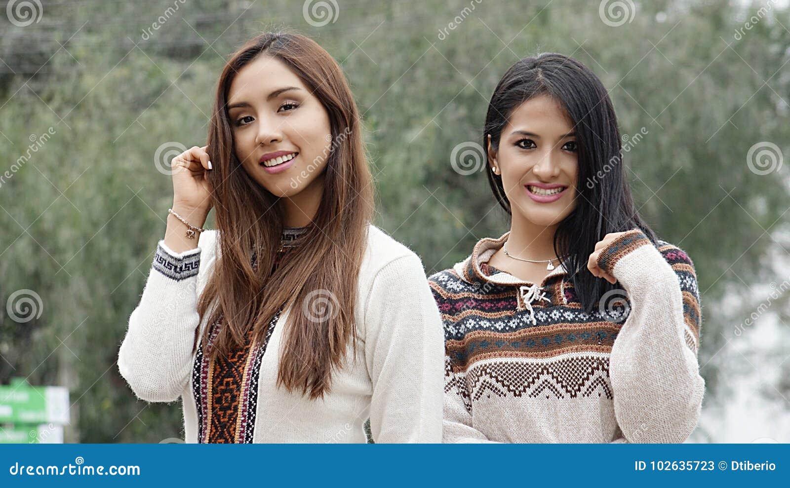 Adult latina women