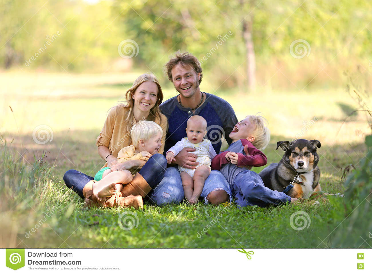 family animals humans