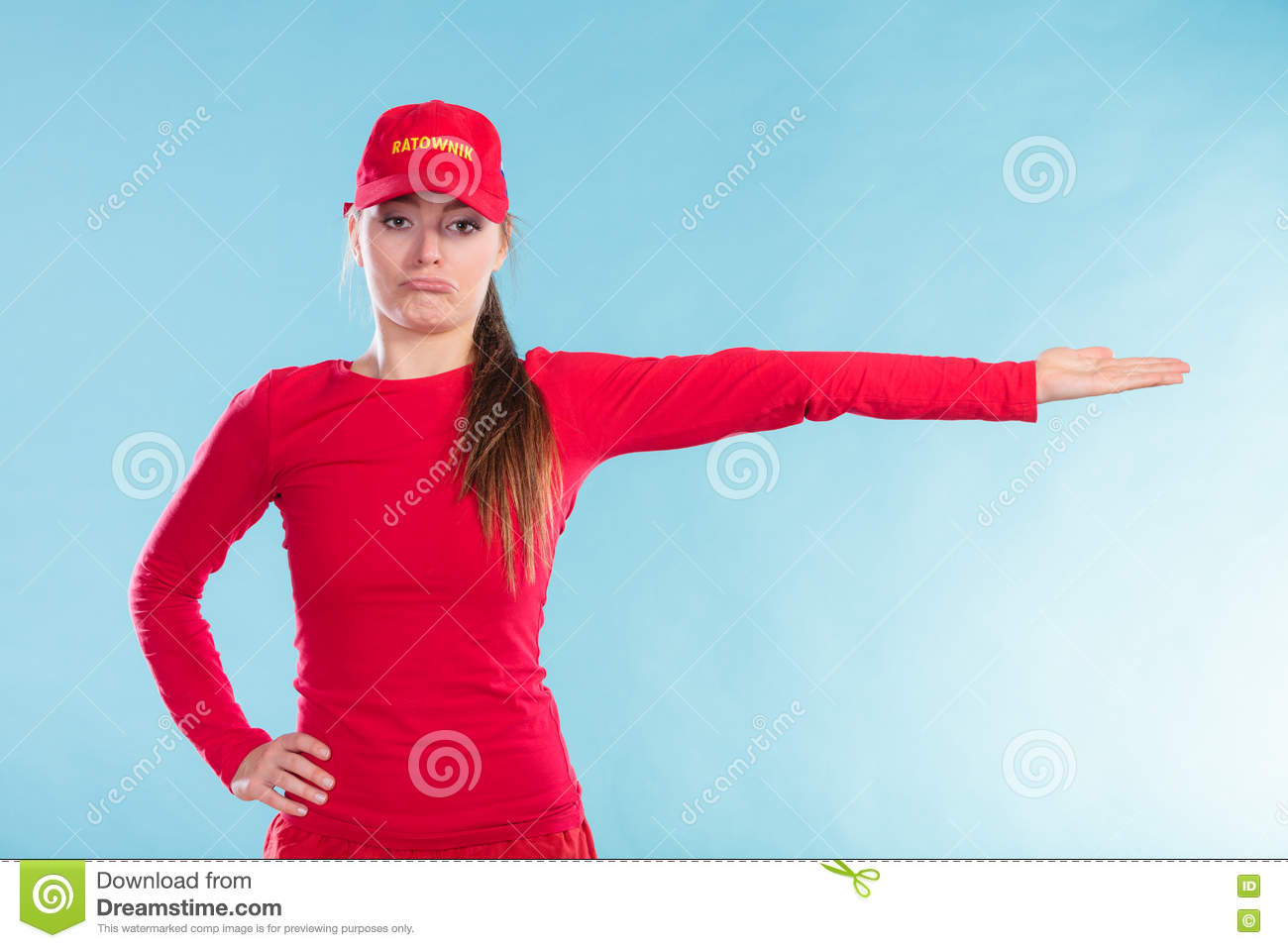 Portrait Of A Happy Lifeguard Royalty Free Stock Photo