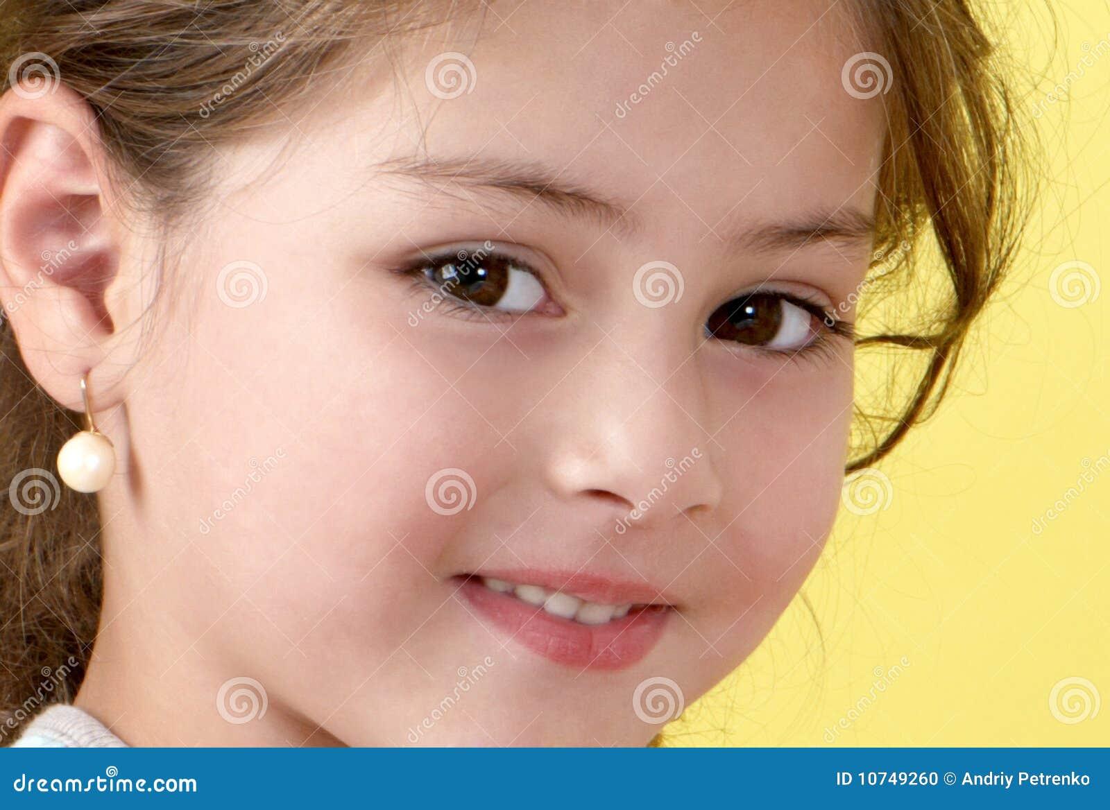 Happy Little Girl Stock Photo - Image: 10749260
