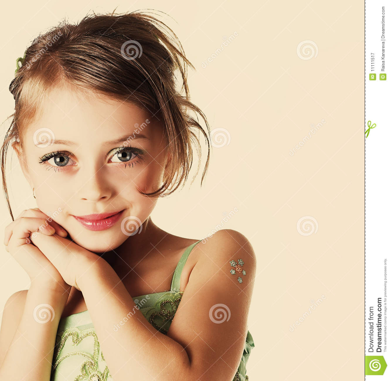 Happy Little Girl Royalty Free Stock Photography - Image ...