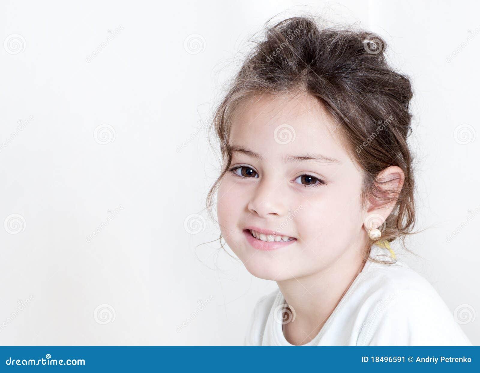 Happy Little Girl Stock Image - Image: 18496591