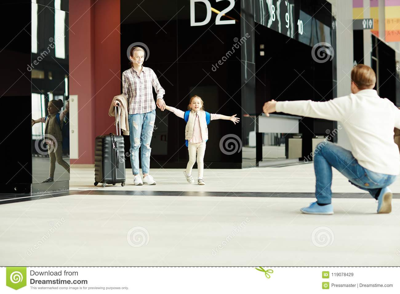 Arrival In Airport Stock Image Image Of Contemporary 119078429