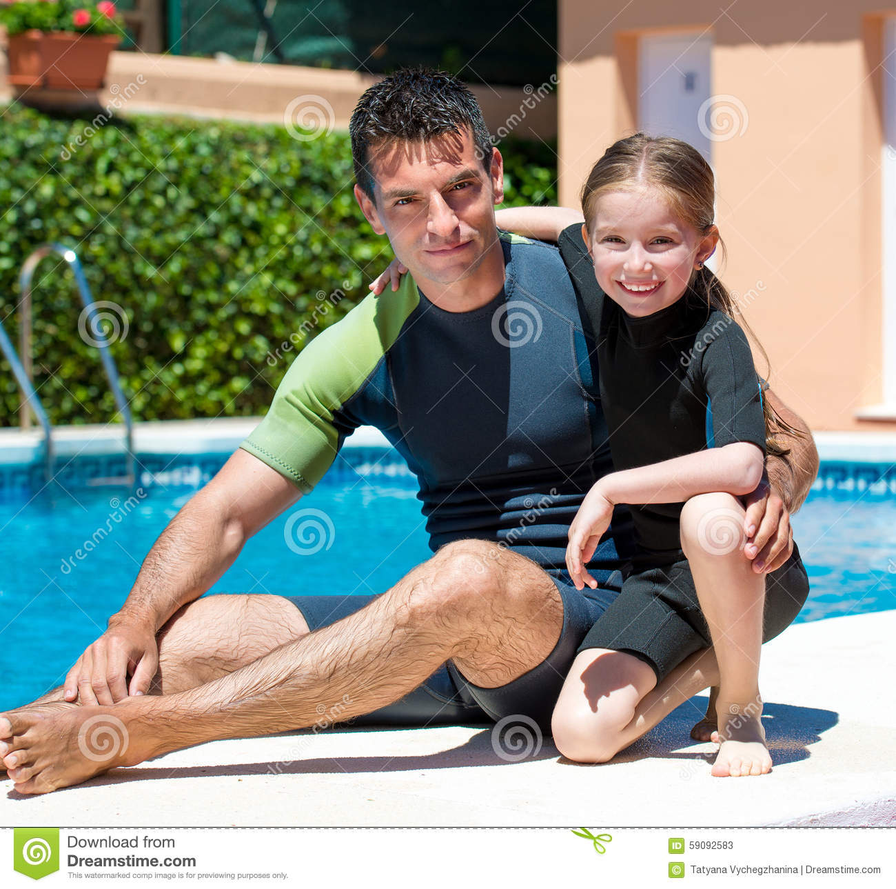 1e39279649 Happy Little Girl In A Wetsuit Stock Image - Image of wetsuit