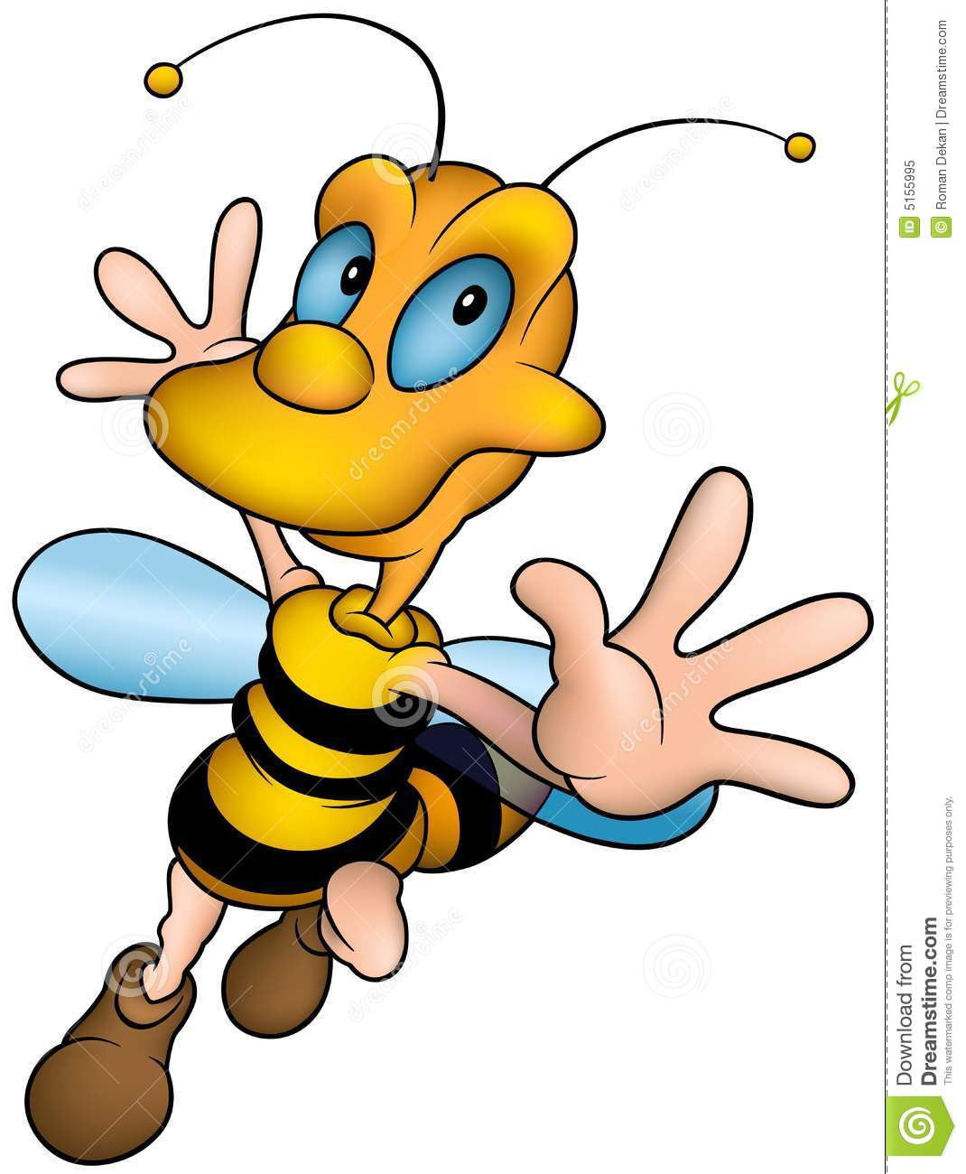 Happy little wasp
