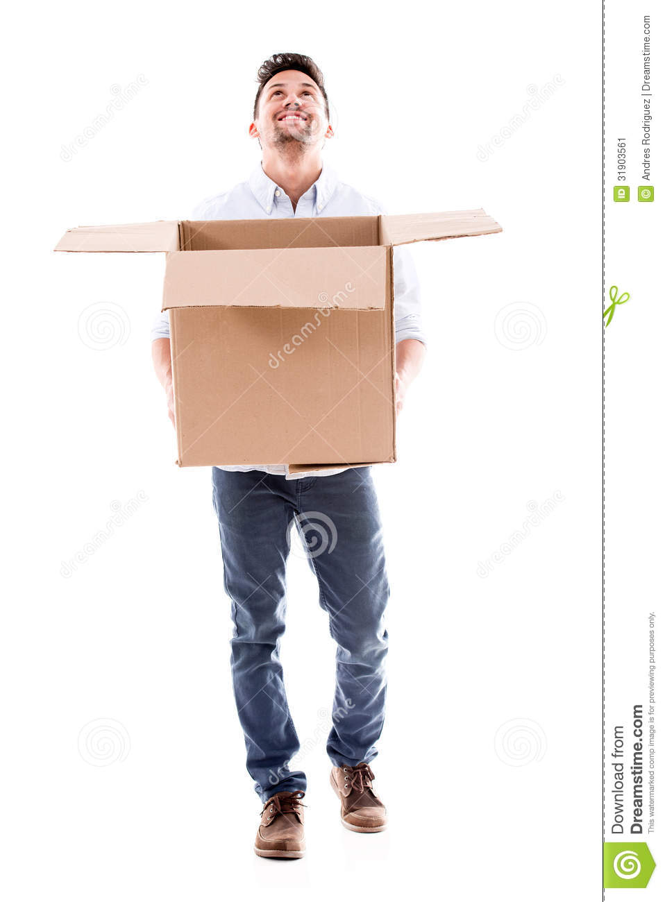 how to send something in a box