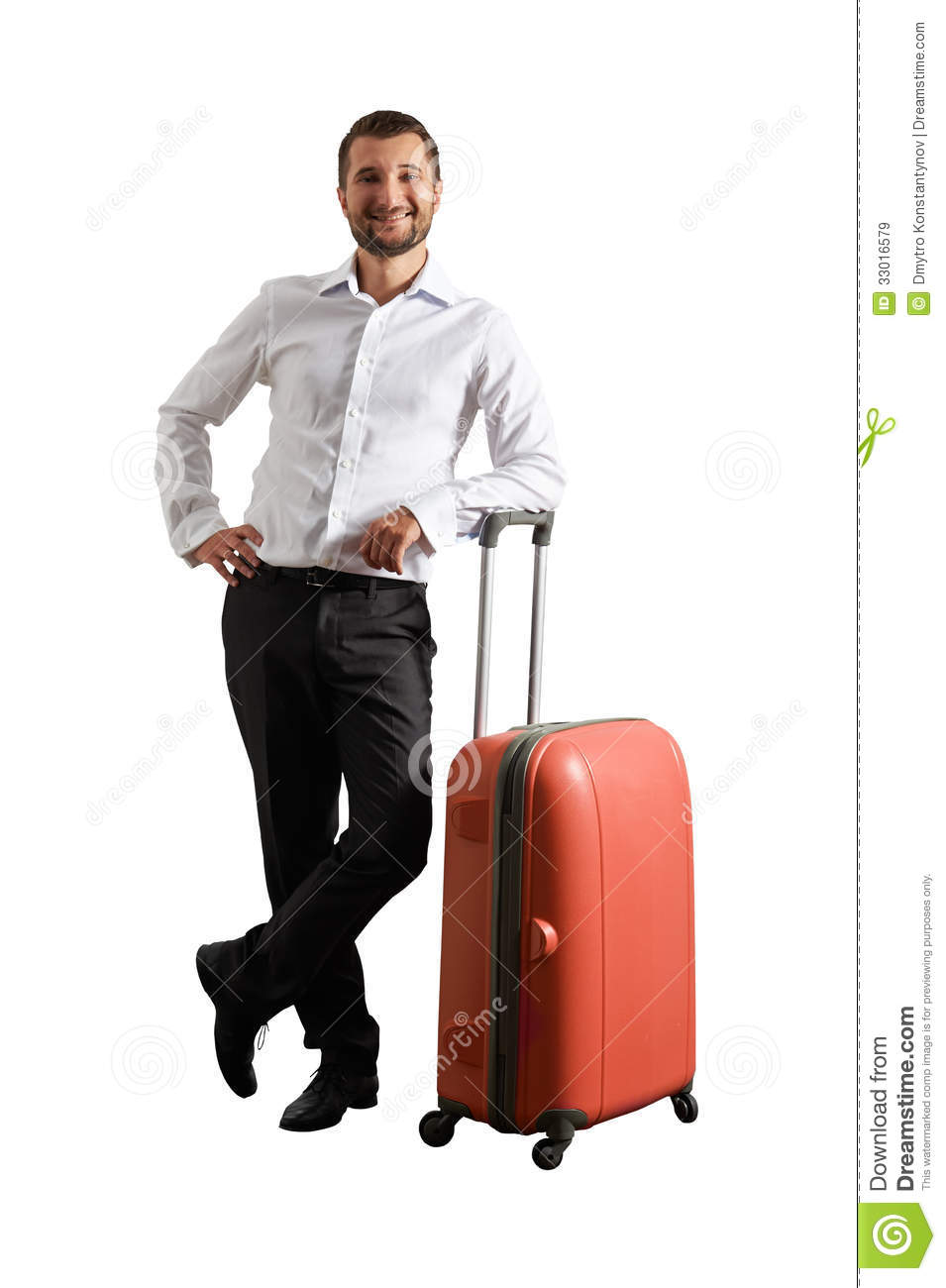 happy-man-standing-suitcase-isolated-whi