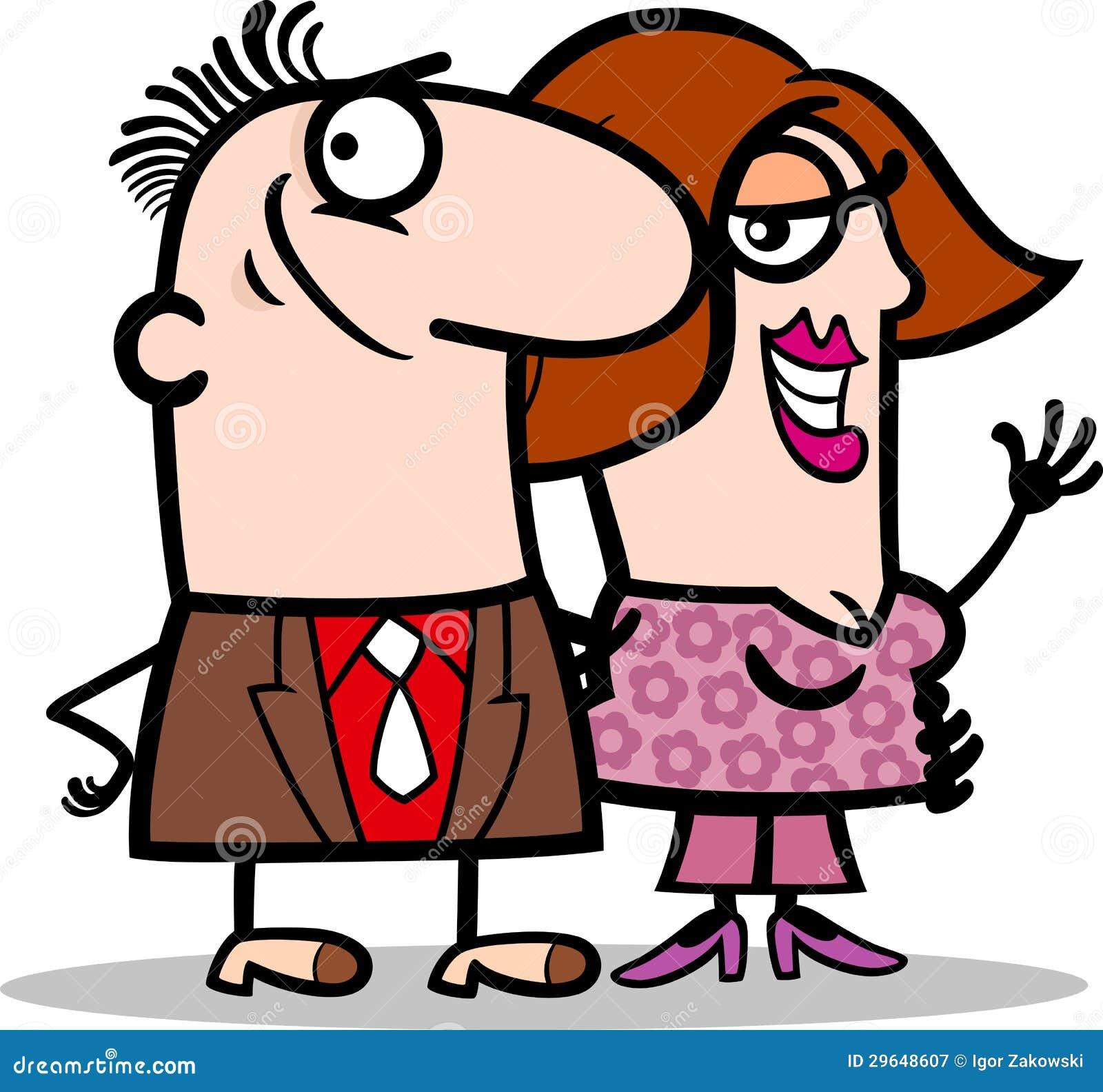 happy-man-woman-couple-cartoon-29648607.