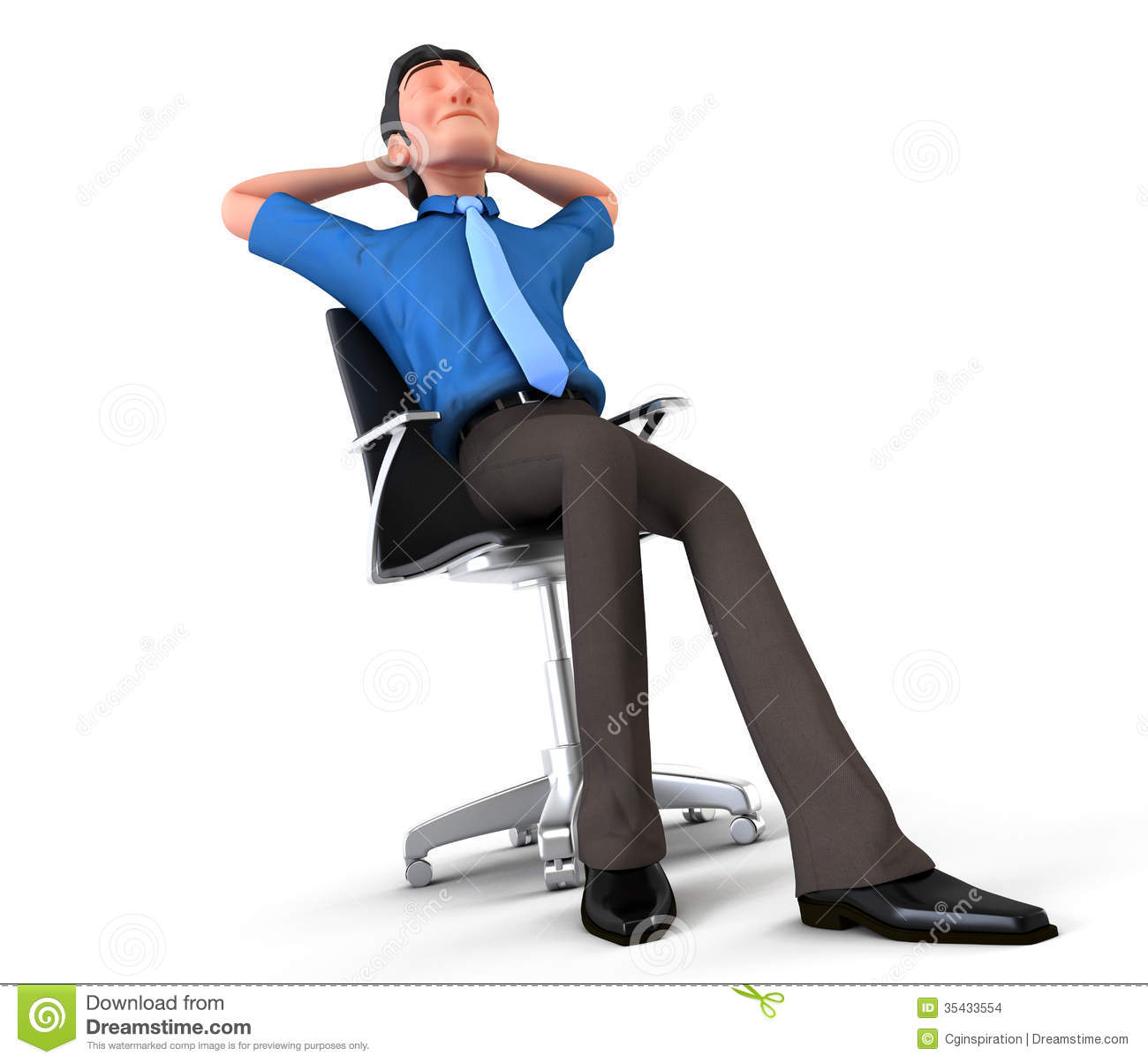 Happy Manager Stock Images - Image: 35433554