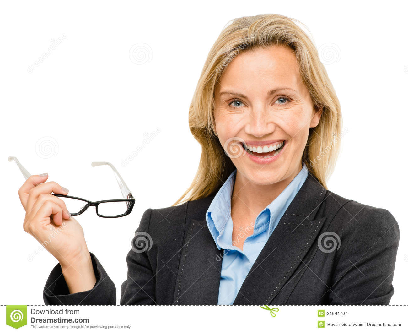 happy-mature-business-woman-isolated-whi