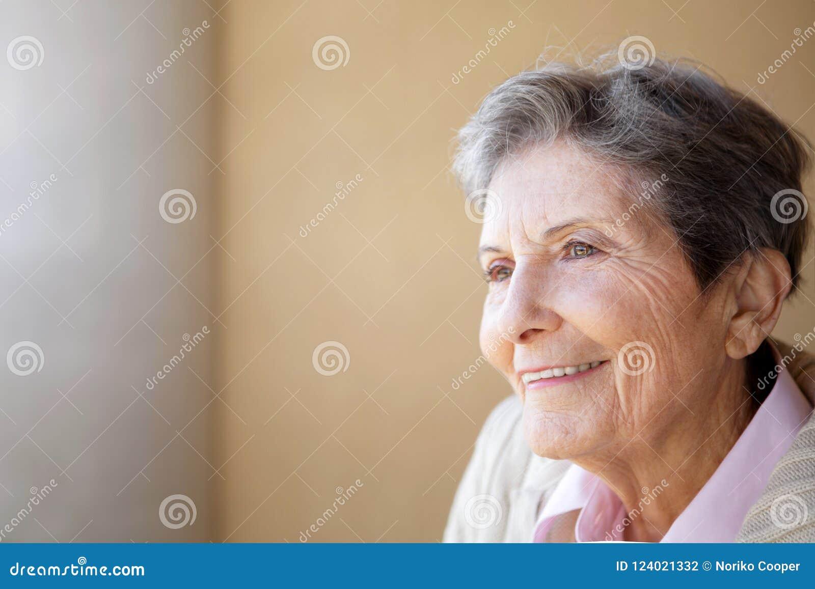 Mature elderly women