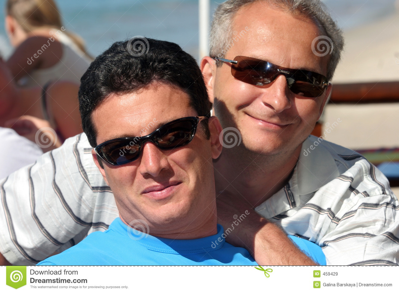 Download Happy men couple stock image. Image of best, male, daytime - 459429