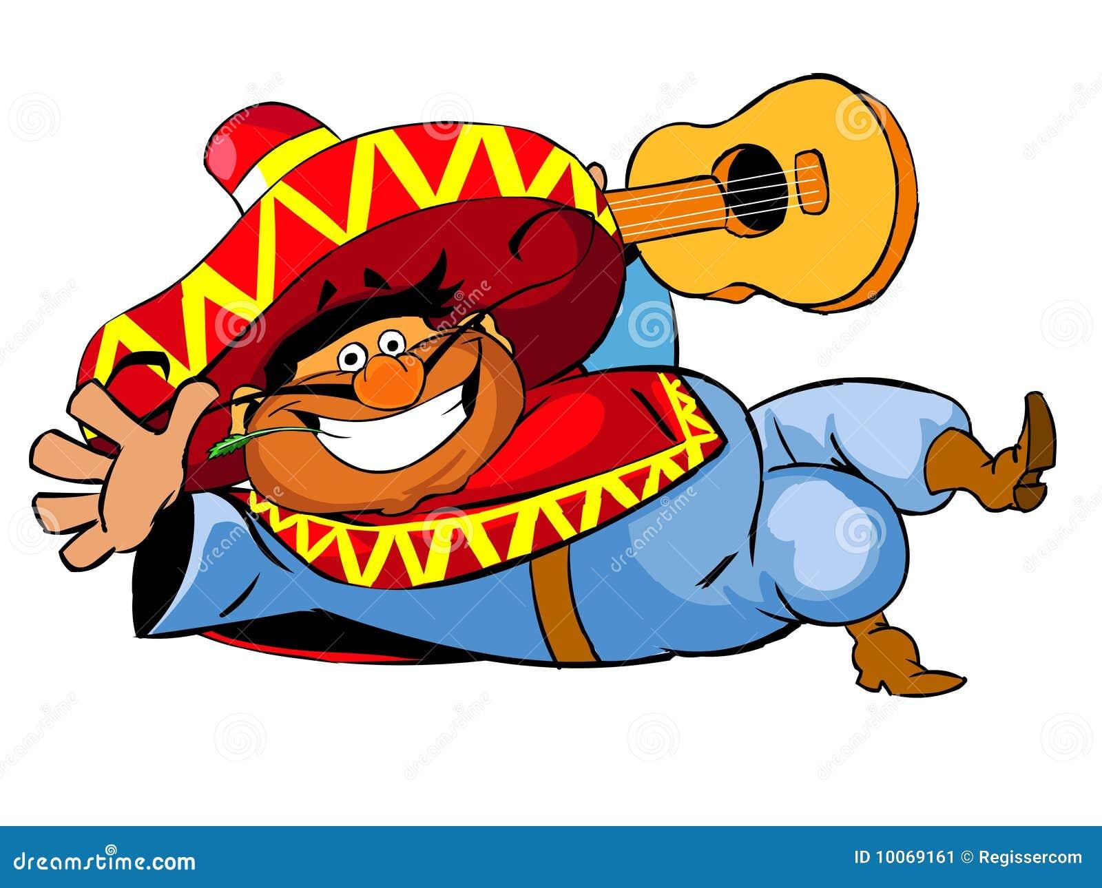 Happy Mexican Stock Illustration Illustration Of Happy