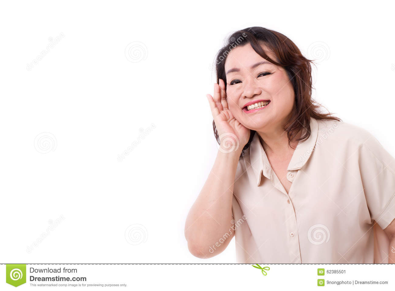 Middle Aged Asian Woman 118