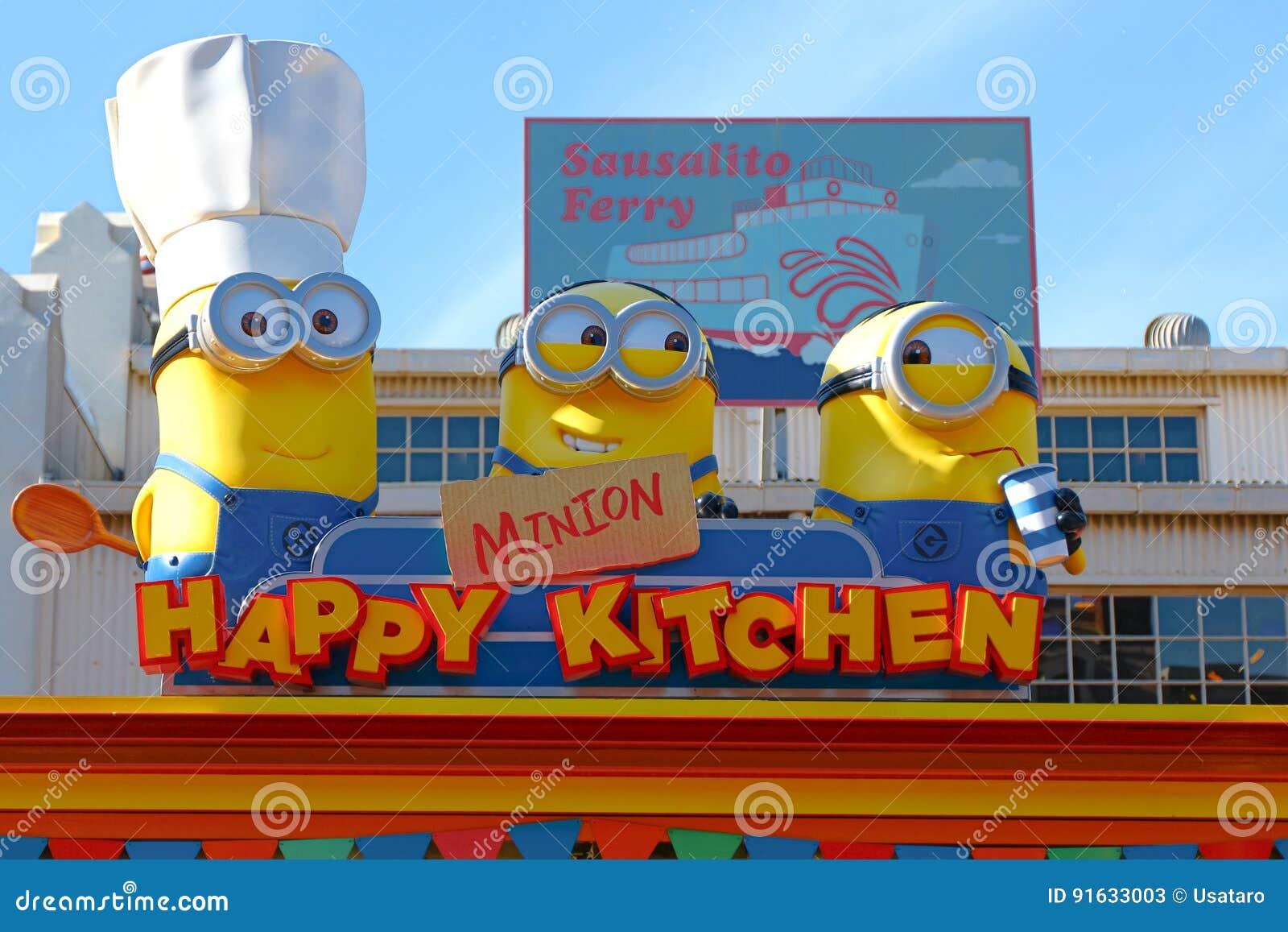 HAPPY MINION KITCHEN