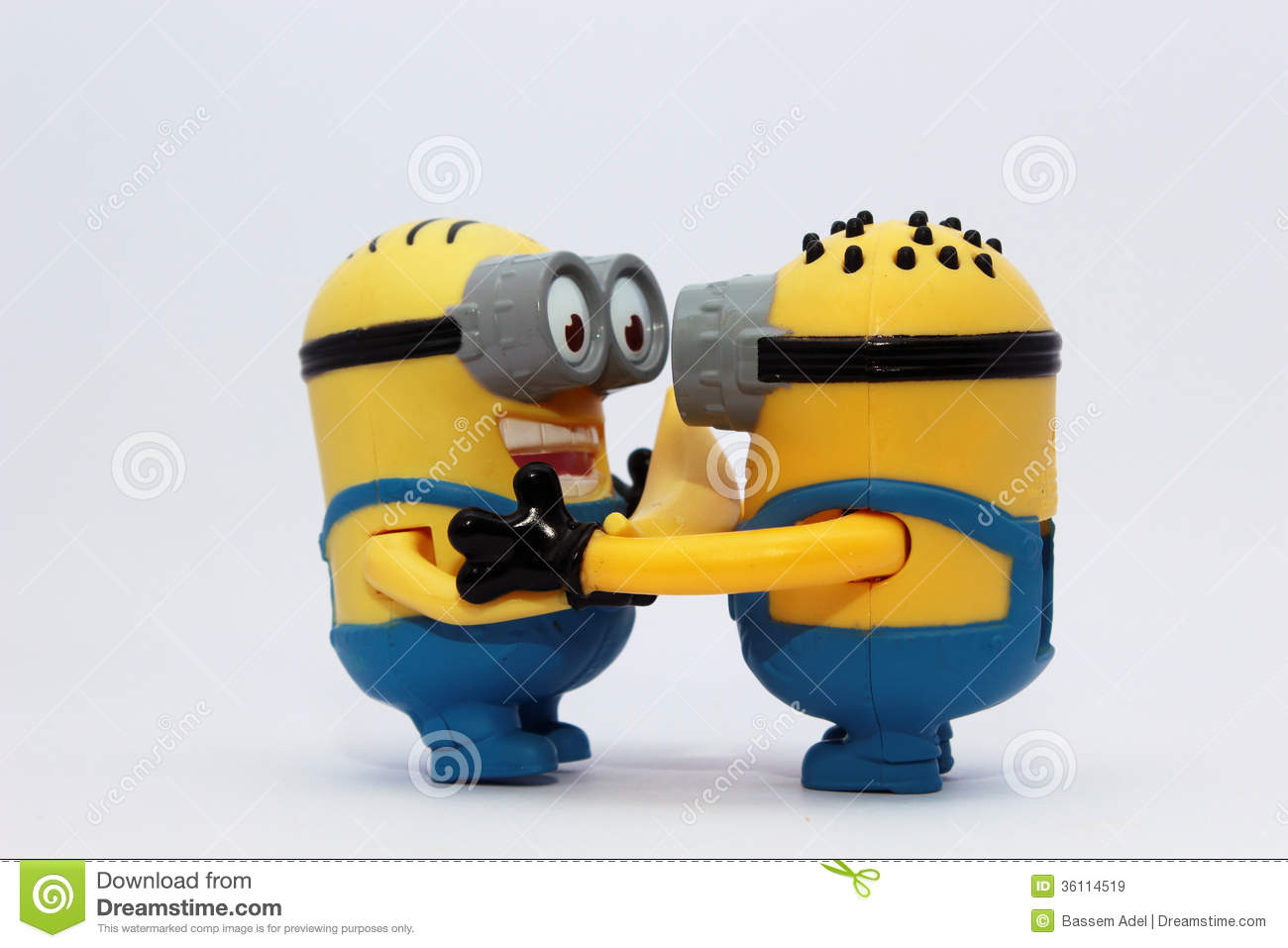 Happy Minions Royalty Free Stock Images - Image: 36114519
