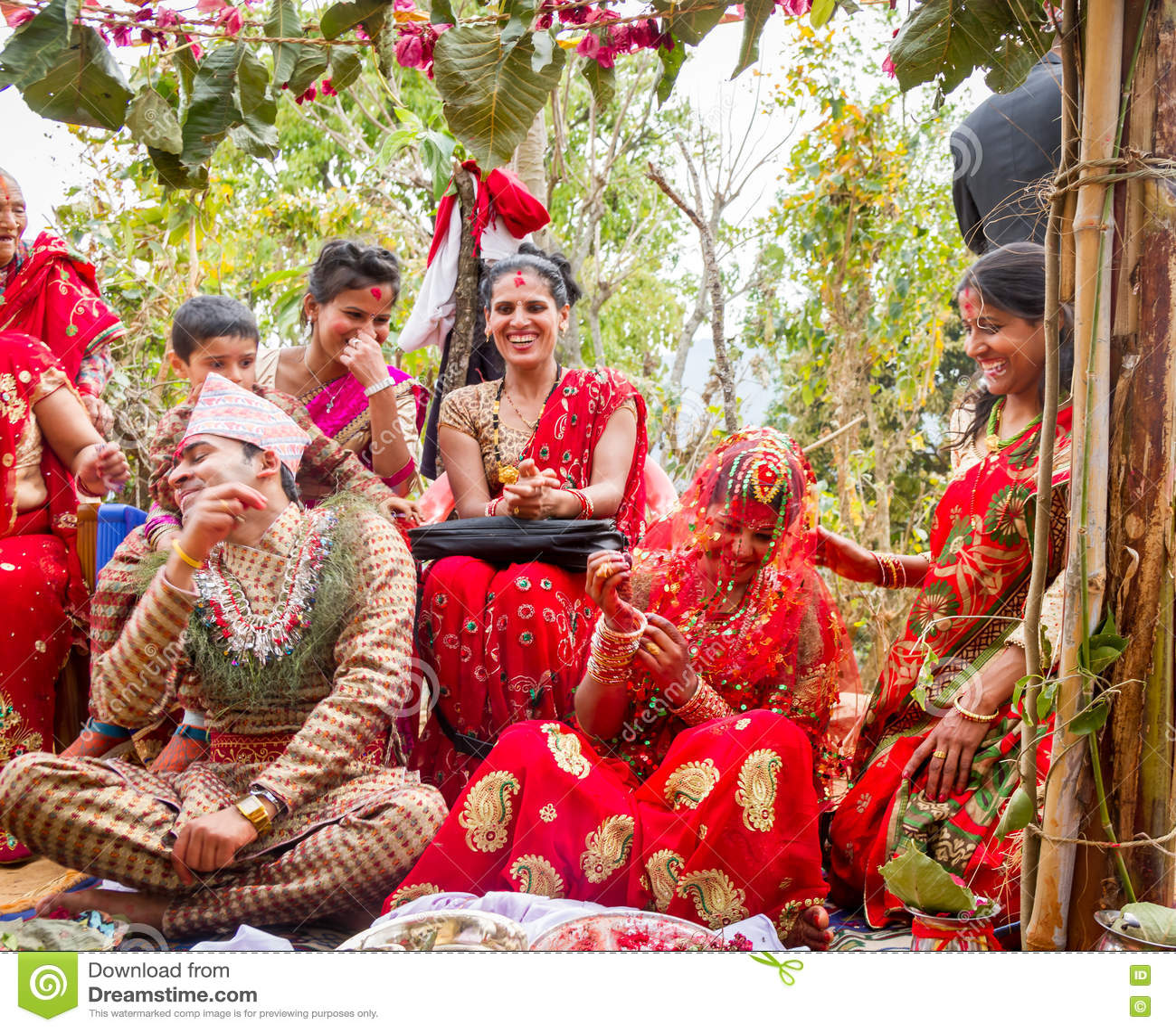 Happy moment of Wedding Ceremony