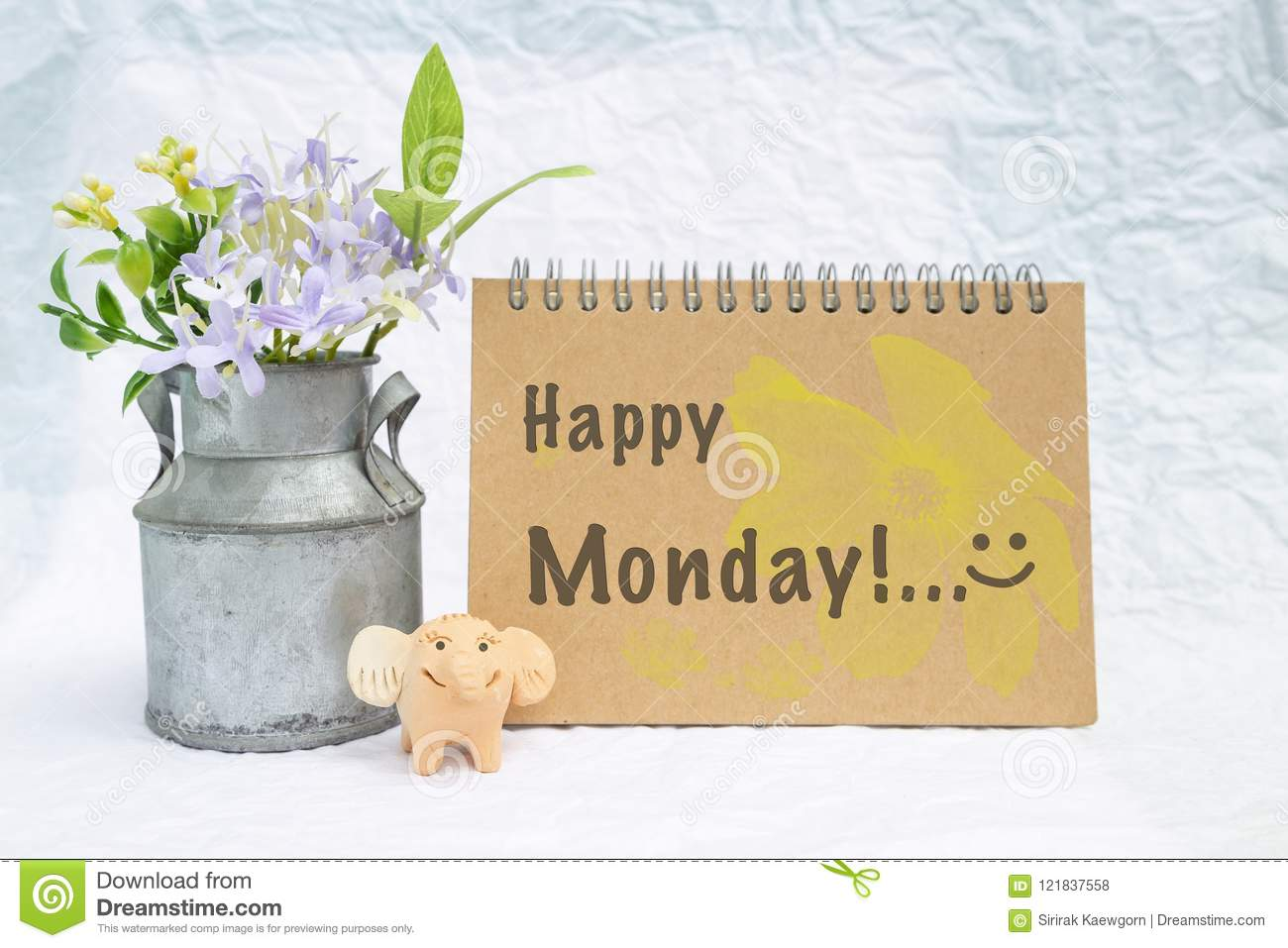 Happy monday greeting card concept stock photo image of clean download happy monday greeting card concept stock photo image of clean greeting 121837558 m4hsunfo