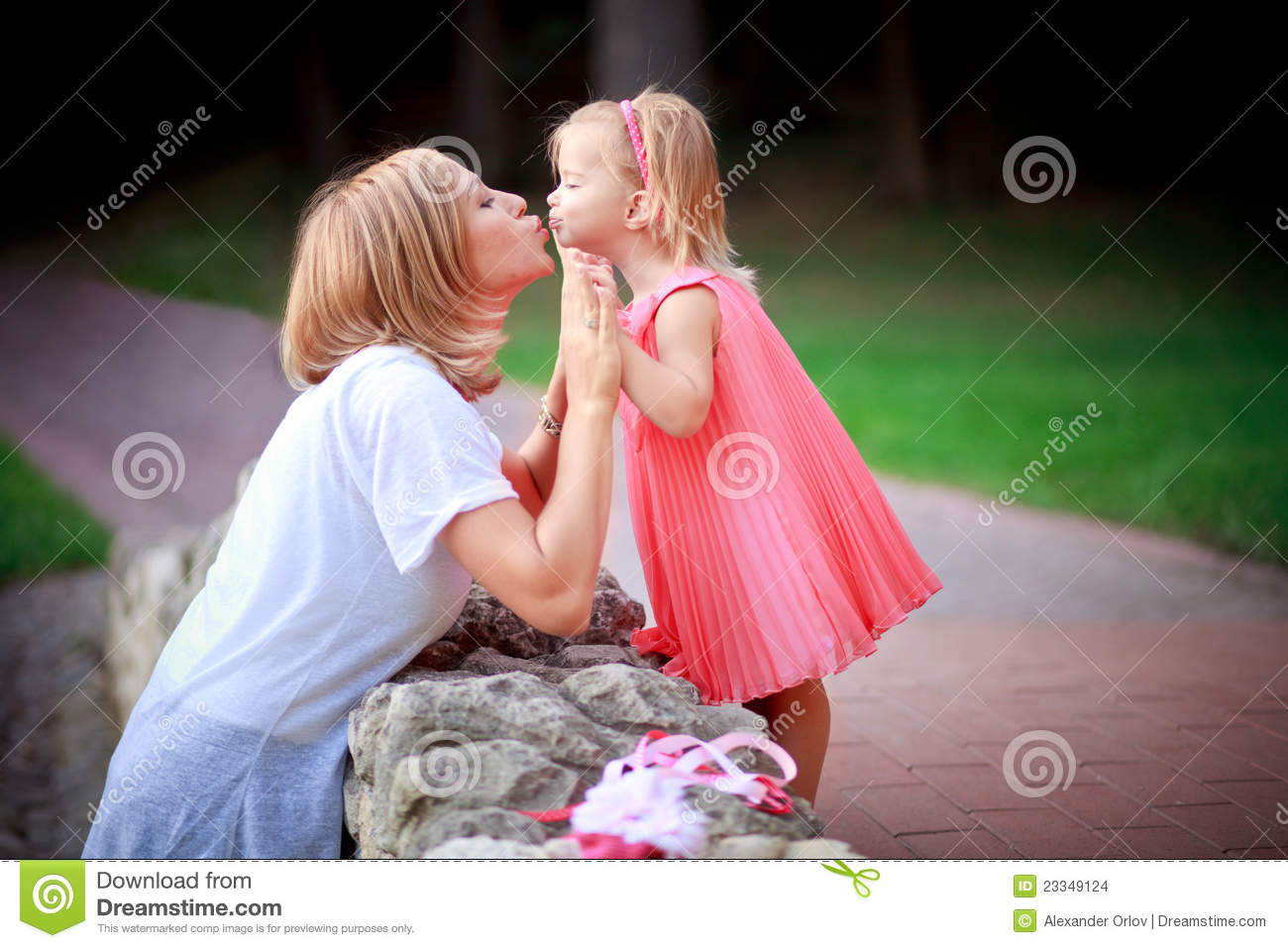 Happy mother and daughter on vacations stock images for Mother daughter vacation destinations