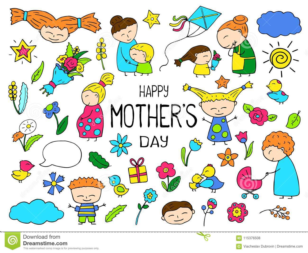 25+ Senior Mother's Day Clipart