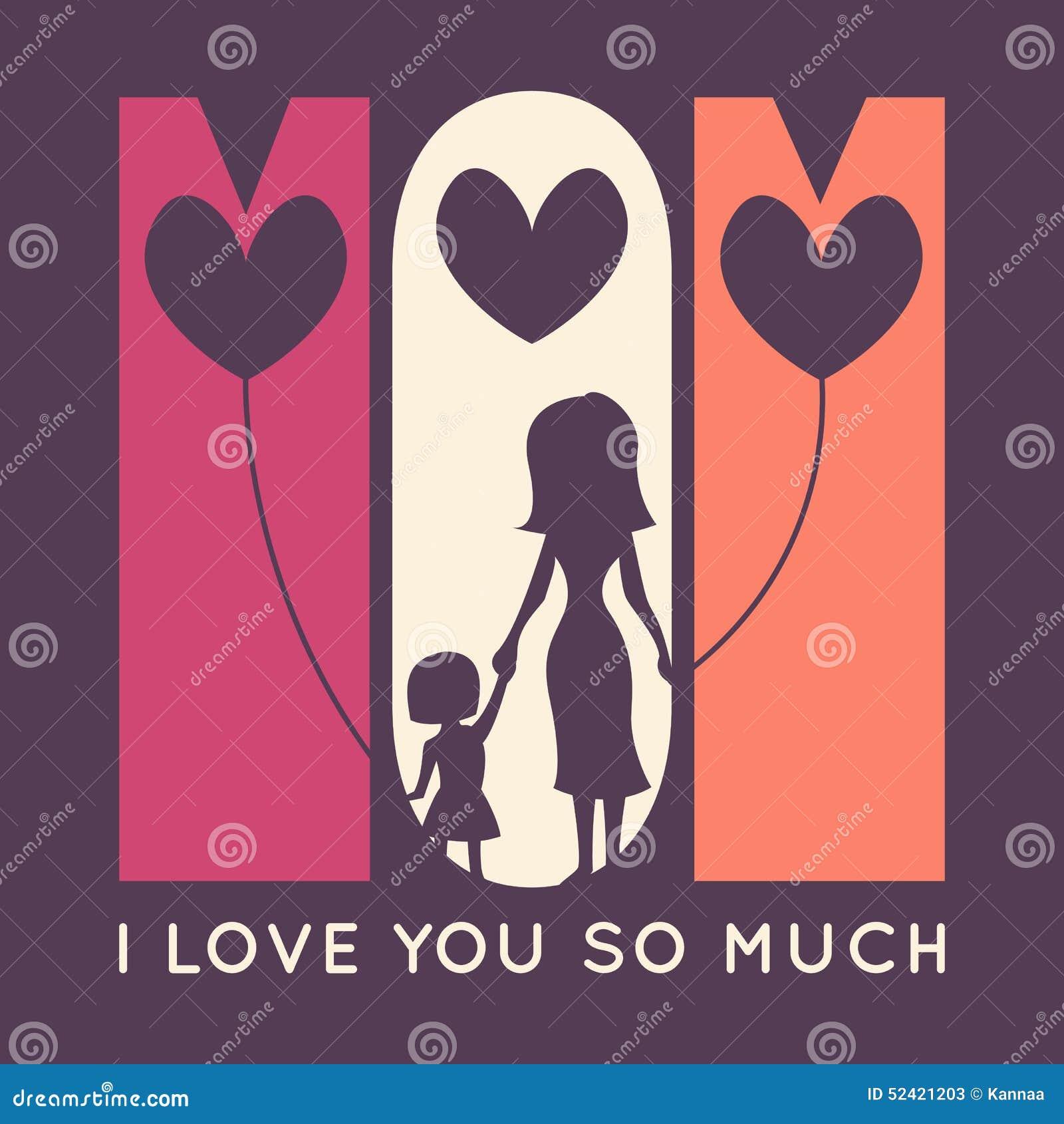 Happy mother day retro greeting card vector stock vector happy mother day retro greeting card vector kristyandbryce Gallery