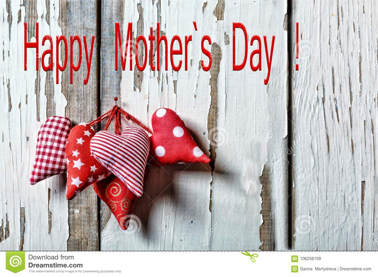 Happy Mother`s Day Hearts. Mother`s Day 26 May Mother s day