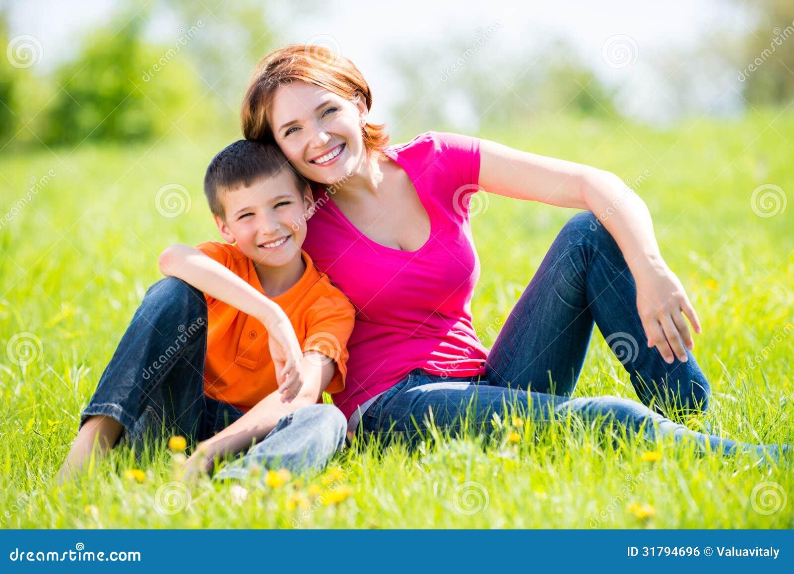 Фотосет мамы с сыном 16 фотография