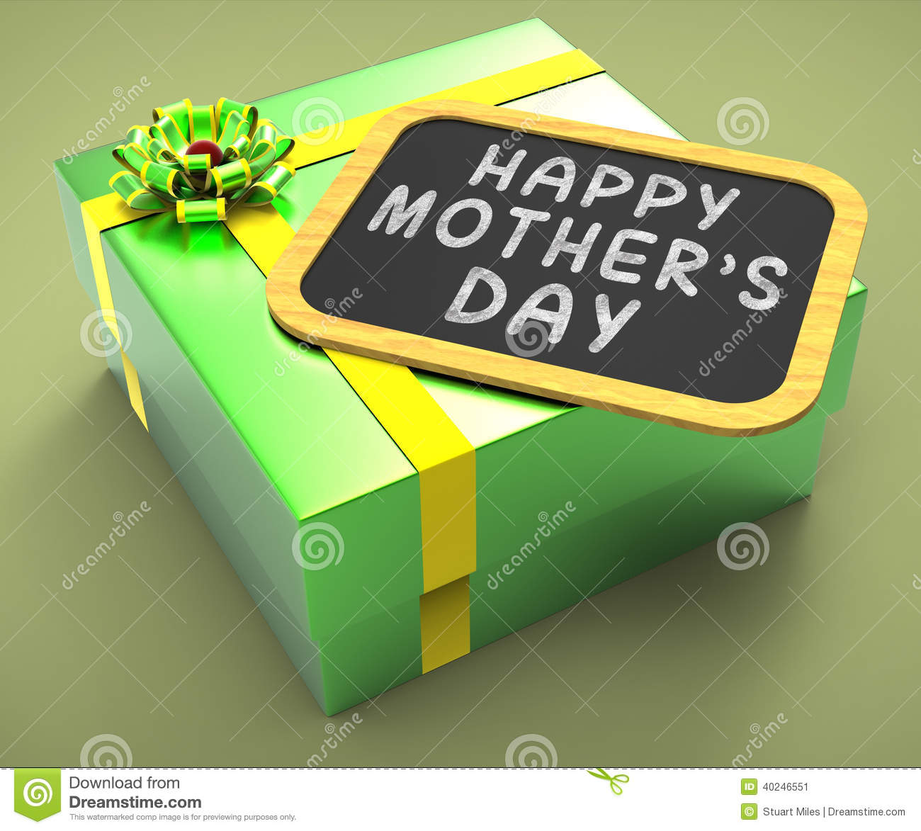 Happy mothers day present means motherhood stock illustration happy mothers day present means motherhood m4hsunfo