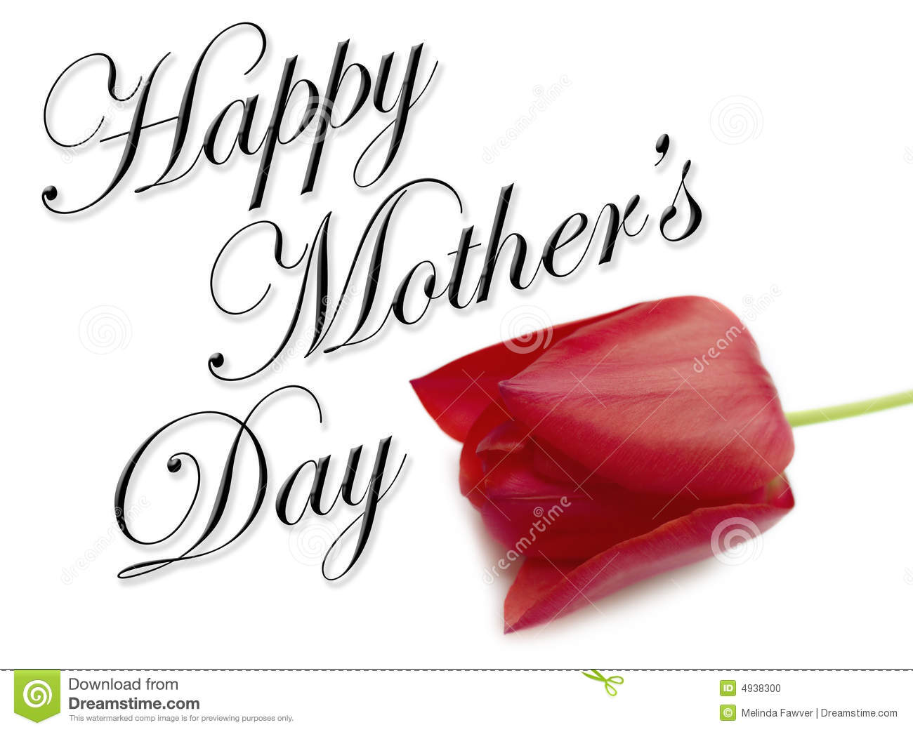 Happy Mothers Day Type