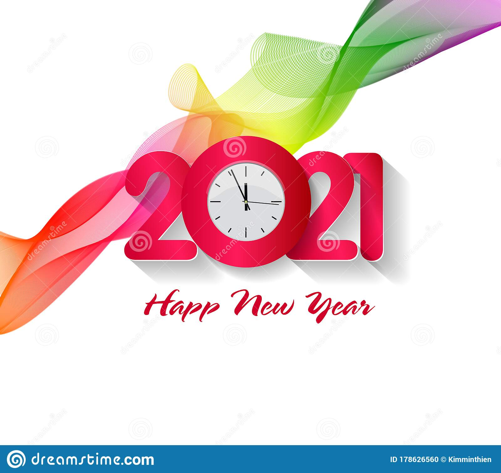 Happy New Year 2021. Chinese New Year, Year Of The Ox ...