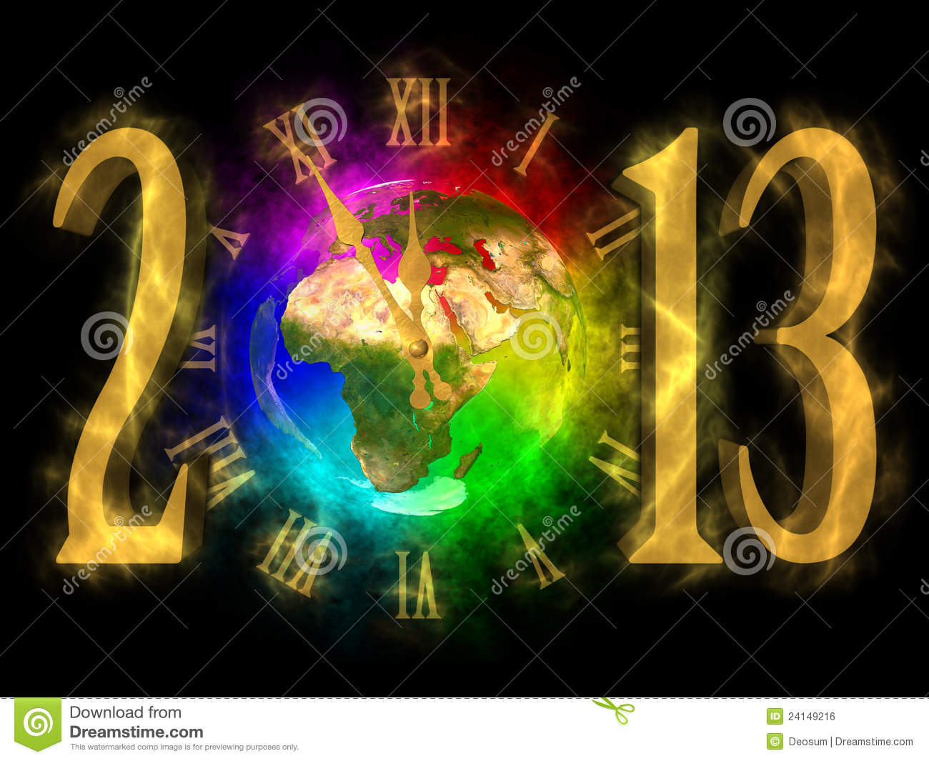 Happy new year 2013 europe africa asia royalty free stock image image 24149216 - Happy new year sound europe ...